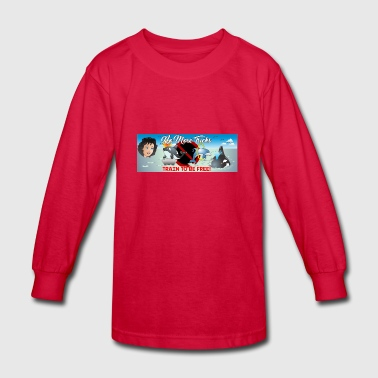 ObannerGo4Final My Trademark Name for kids' book. - Kids' Long Sleeve T-Shirt