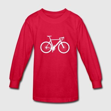 Bicycle Bike Tour Sport Cyclist Cycling Mountain - Kids' Long Sleeve T-Shirt