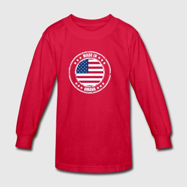 OMAHA - Kids' Long Sleeve T-Shirt