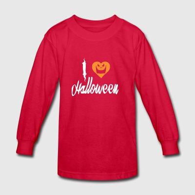 I Love Halloween - Kids' Long Sleeve T-Shirt