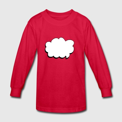 thought balloon - Kids' Long Sleeve T-Shirt