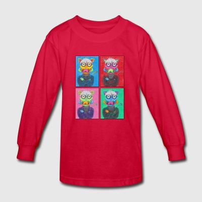 Andy Warthog - Kids' Long Sleeve T-Shirt