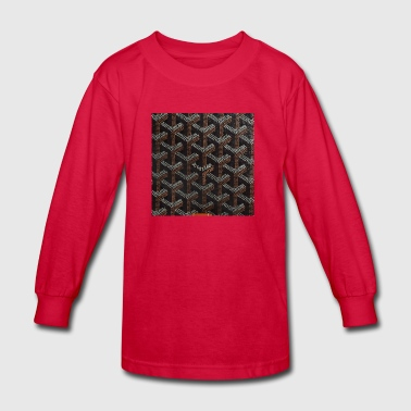 Goyard - Kids' Long Sleeve T-Shirt