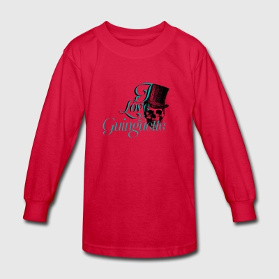 La guinguette - Kids' Long Sleeve T-Shirt