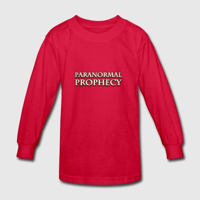 PARANORMAL PROPHECY CLASSIC - Kids' Long Sleeve T-Shirt