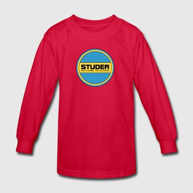 Old studer - Kids' Long Sleeve T-Shirt