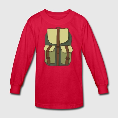 backpack - Kids' Long Sleeve T-Shirt