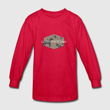 Lumberjack Labs Ducks - Kids' Long Sleeve T-Shirt