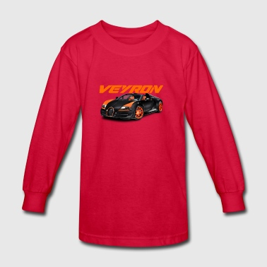 Bugatti Veyron - Kids' Long Sleeve T-Shirt
