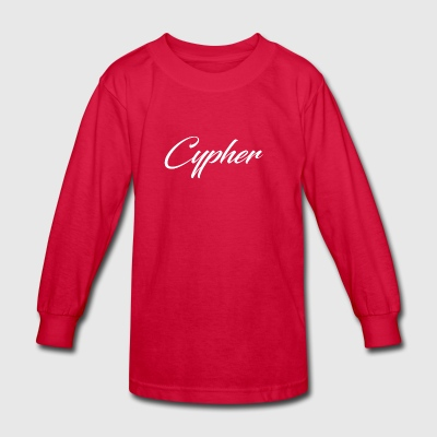 cypher - Kids' Long Sleeve T-Shirt