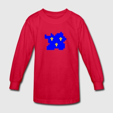 Medieval France - Kids' Long Sleeve T-Shirt