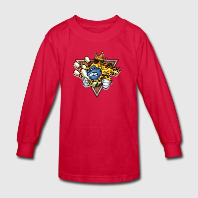 bowling_king - Kids' Long Sleeve T-Shirt