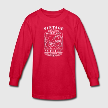 Vintage made in 1987 - Kids' Long Sleeve T-Shirt