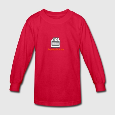 itsgettinghot - Kids' Long Sleeve T-Shirt