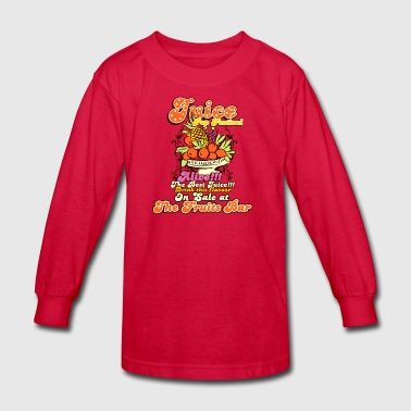 Juice top festival - Kids' Long Sleeve T-Shirt