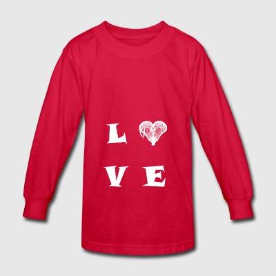 LOVE30 - Kids' Long Sleeve T-Shirt