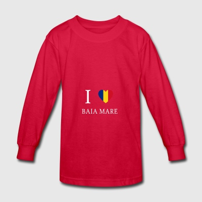 Love Romania BAIA MARE - Kids' Long Sleeve T-Shirt