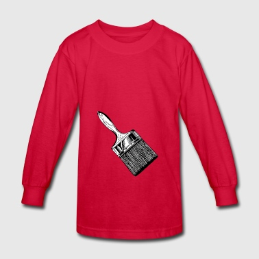 brush - Kids' Long Sleeve T-Shirt