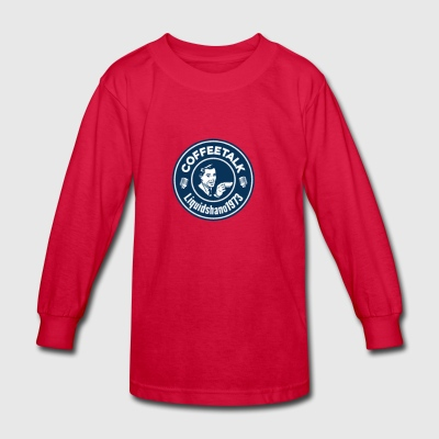Coffeetalk Cheers - Kids' Long Sleeve T-Shirt