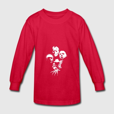 Horror Icons T-Shirt - Kids' Long Sleeve T-Shirt