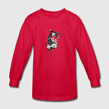 koi fish - Kids' Long Sleeve T-Shirt