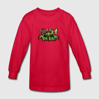 Bug Bites - Kids' Long Sleeve T-Shirt