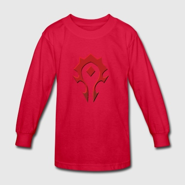 Horde - Kids' Long Sleeve T-Shirt