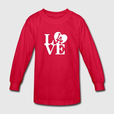 I Love LA - Kids' Long Sleeve T-Shirt