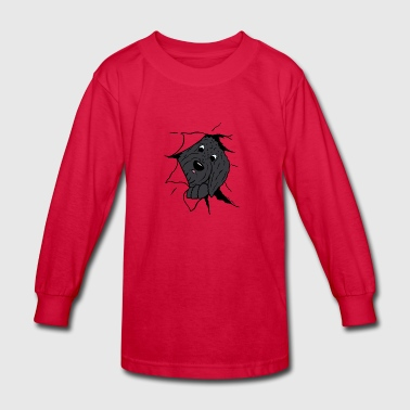 Funny Doodle - Kids' Long Sleeve T-Shirt