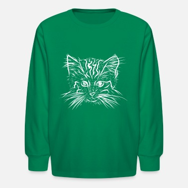 Cat Baby - Kids' Longsleeve Shirt