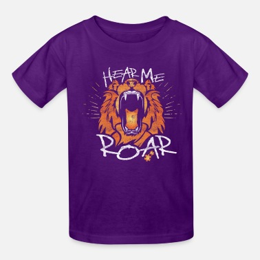 Hear Hear Me Roar - Kids' T-Shirt