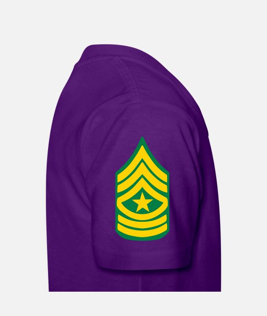 Insignia T-Shirts - Sergeant Major - US - Kids' T-Shirt purple