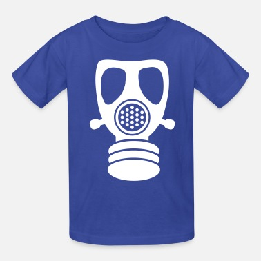 Gas Gas mask - Kids' T-Shirt