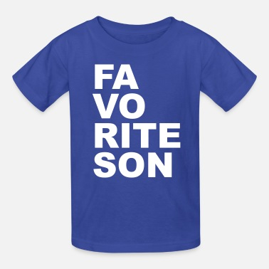Son Favorite son - Kids' T-Shirt