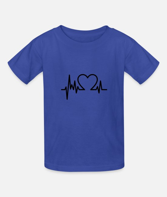 Heart T-Shirts - Corazon - Kids' T-Shirt royal blue