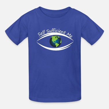 Self Self Sufficient Me Logo Large - Kids' T-Shirt