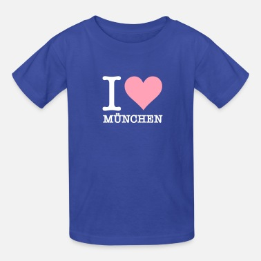 Free State Of Bavaria I Love Munich - Kids' T-Shirt
