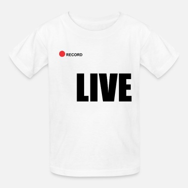 Record Champion Live record - Kids' T-Shirt