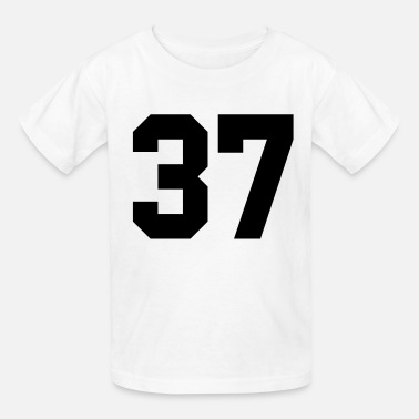 37 Number 37 - Kids' T-Shirt
