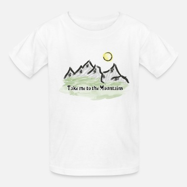Mountains Mountain mountaineering mountains mountain world - Kids' T-Shirt
