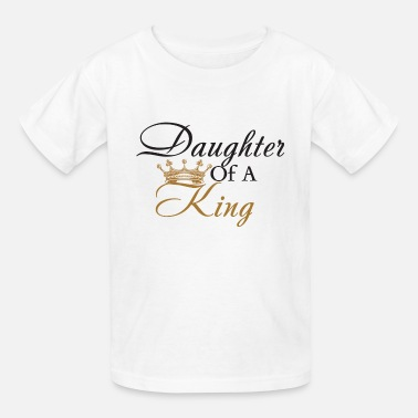 Daughter Of A King - Kids' T-Shirt