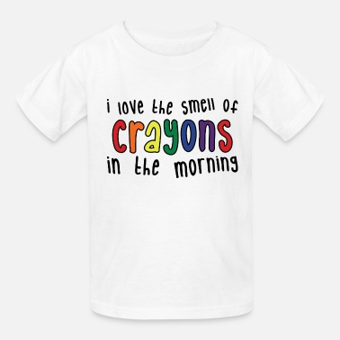 Elementary School Crayons Womens light - Kids' T-Shirt