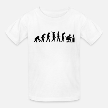 Computer Evolution computer - Kids' T-Shirt