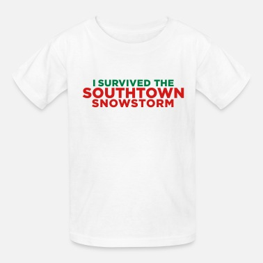 Snowstorm I Survived the Southtown Snowstorm Christmas  - Kids' T-Shirt