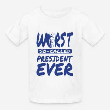 f431eb7a My President Is Black Trump worst president ever black design - Kids' T.  Kids' T-Shirt