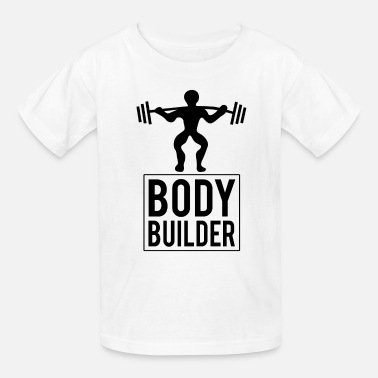 Weightlifting Bodybuilders with muscles - Kids' T-Shirt