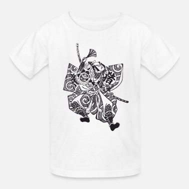Samurai Samurai - Japan - Japanese - Warrior - Bushido - Kids' T-Shirt
