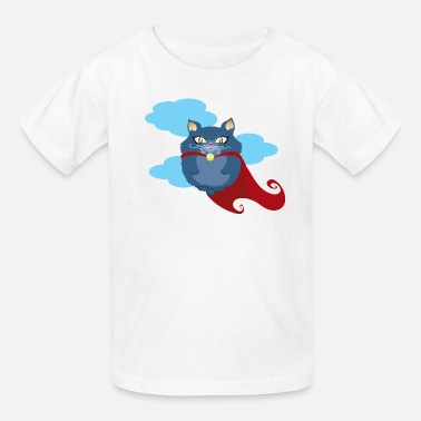 Superhero cat superhero - Kids' T-Shirt