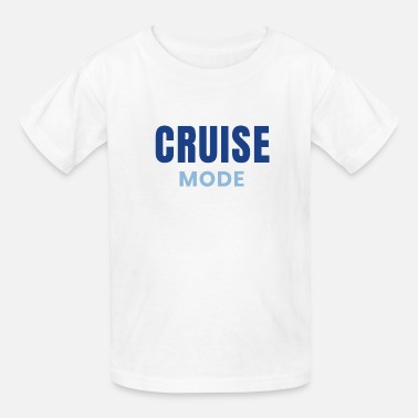 Cruise Mode Cruising Design Family Cruises - Kids' T-Shirt