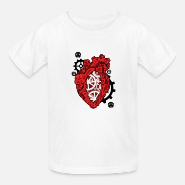 Preme Anatomical Heart. Mechanism. Cardiology Heart - Kids' T-Shirt